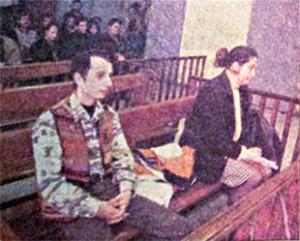 Mehmet Efe, 2. Ağır Ceza'da yargılanırken.